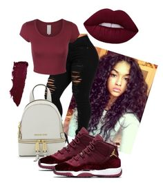"""""""Untitled #106"""" by purple4048 on Polyvore featuring MICHAEL Michael Kors and NIKE"""