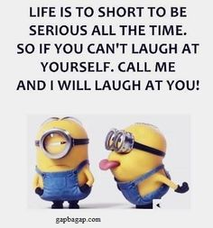 Funny Jokes About Laugh By Minions