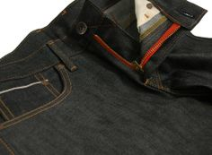 EDWIN SEN SELVAGE SKINNY JAPAN RED SELVAGE DENIM RAW