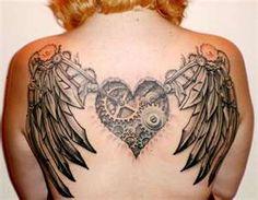 Steampunk tattoo #Steampunk #Tattoo #Style