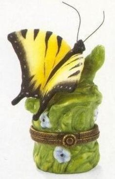 Eastern Tiger Swallow Butterfly  Hinged Box Midwest #TrinketBox