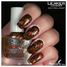 Lekker Lacquer - Holiday/Winter 2013 Collection - Did It Rein, Deer?