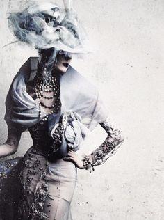 "lab1602: "" "" rebelheartscouture: Stella Tennant by Patrick Demarchelier for Dior Haute Couture "" """