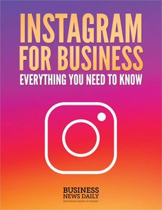 Instagram for Business - Everything You Need to Know, Free Purch eGuide #instagram #business #businesstips #instagramquotes