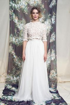 Flower Top, Chiffon Skirt | Cecilie melli