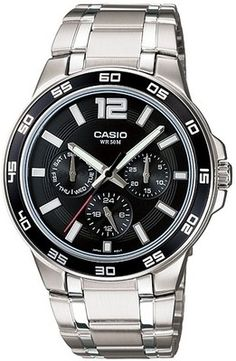 10% Off on Casio Analog Watch – For Men (Silver)