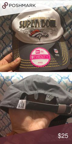 wholesale dealer 234d3 ecaa8 Brand New Woman s Broncos 2015 Super Bowl Cap Brand New Woman s Broncos  2015 50th Super Bowl