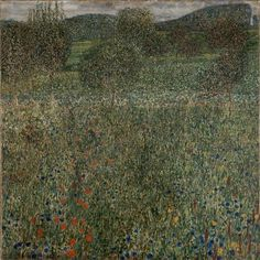 Gustav Klimt Landscapes | Klimt, Gustav; Orchard, c. 1905