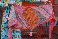 Ravelry: Marled Magic Mystery Shawl KAL pattern by Stephen West