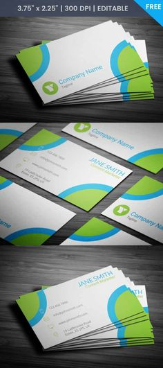 Free Content Marketer Business Card Template #businessscard