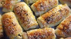 Puf Puf Kıymalı Rulo Börek Pasta Recipes, Dinner Recipes, Cooking Recipes, Turkish Recipes, Ethnic Recipes, Savory Pastry, Muffins, Good Food, Yummy Food