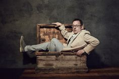 Michael Emerson as Harold Finch on Person of Interest.