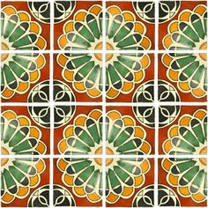Mexican Tile , Red!!!