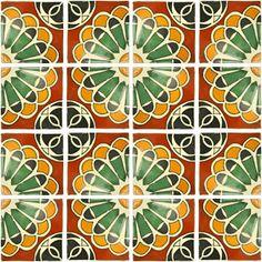 Mexican Tile - Abanico Mexican Tile