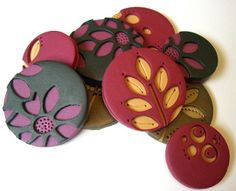 Assorted pendants by Rebecca Geoffrey, via Flickr
