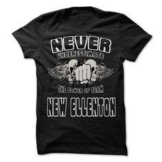 NEVER UNDERESTIMATE THE POWER OF New Ellenton - Awesome - #rock tee #embellished sweatshirt. WANT => https://www.sunfrog.com/LifeStyle/NEVER-UNDERESTIMATE-THE-POWER-OF-New-Ellenton--Awesome-Team-Shirt-.html?68278