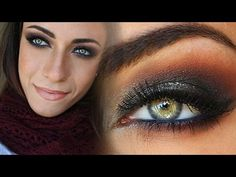 New Years Eve Glittery Smokey Eye - MakeupAndArtFreak - YouTube