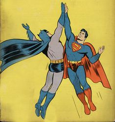 Warner Bros. Expected to Announce Batman/Superman Team-Up Movie for 2015.