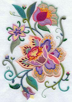 Summer Lovin' Jacobean Floral Bouquet