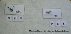 blog.skolickasrdicko.cz Ke stažení několik pomůcek pro Montessori výuku Montessori, Teaching Ideas, Photo Wall, Frame, Blog, Decor, Picture Frame, Photograph, Decoration