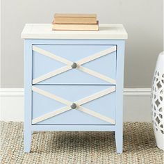 Safavieh American Homes Collection Sherrilyn 2-Drawer Side Table Light Blue For Sale https://endtablesforlivingroom.info/safavieh-american-homes-collection-sherrilyn-2-drawer-side-table-light-blue-for-sale/