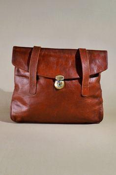 50c121ad9a Original Vintage Arthur   Aston Brown Leather Bag