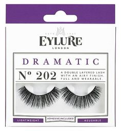 Eylure Naturalites Double False Eyelashes 202 24 Advantage card points. Eylure Naturalites Double False Eyelashes 202 have a layered style for a full and textured effect. FREE Delivery on orders over 45 GBP. http://www.MightGet.com/february-2017-1/eylure-naturalites-double-false-eyelashes-202.asp
