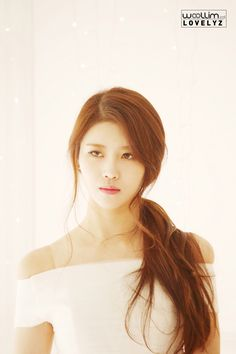 Lovelyz - Mijoo | 러블리즈 미주 South Korean Girls, Korean Girl Groups, Lovelyz Mijoo, Lee Young, Woollim Entertainment, Korean Beauty, Sweet Girls, Girl Crushes, Kpop Girls