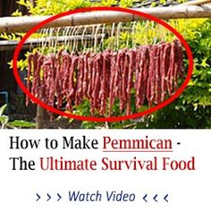 Pemmican is an ancient survival food that has NO SHELF LIFE... You can make this and store it for an emergency food supply in a survival situation. It will last for decades once made so it is absolutely the ultimate survival food.
