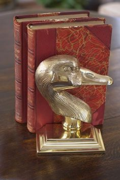 Jefferson Brass Goose Bookend And Door Stop Lacquered -- Be sure to check out this awesome product.