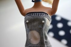 craftiness is not optional: Barbie® dress tutorial