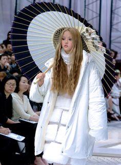 Devon Aoki at Chanel Fall 2000.