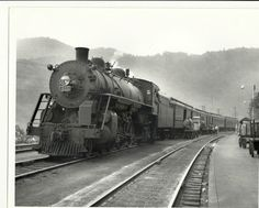 Image detail for -Black and White Vintage Ex-Pere Marquette Pacific Train 8 x 10   eBay