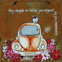 Lewensreis Sweet Quotes, Cute Quotes, Afrikaanse Quotes, Cosmos Flowers, Goeie More, Special Images, Wale, Diy Art Projects, Ceramic Painting