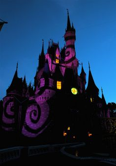 Walt Disney World #disneyatnight #cinderellacastle #magickingdom