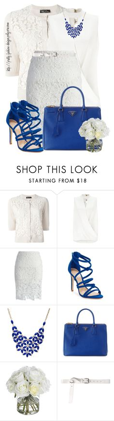 """~ 💕 Lace 💕 ~"" by pretty-fashion-designs ❤ liked on Polyvore featuring Twin-Set, Miss Selfridge, Chicwish, Schutz, Alexa Starr, Prada, Diane James, Acne Studios and lace"