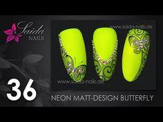 Booster Gel - Snake Skin Nailart (Nailart leicht gemalt   Saida Nails) - YouTube