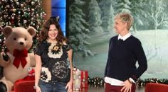 Drew Barrymore's shares stories about baby Olive with Ellen DeGeneres (VIDEO) | Picspoon.com