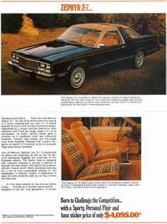 1978 Mercury Zephyr Z-7