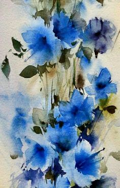 Pin by Fredr on Still life   Pinterest   Watercolor, Flowers and Paintings