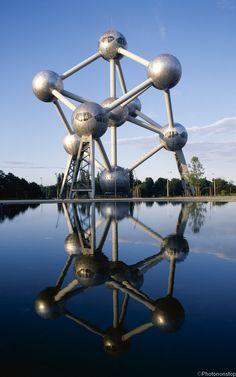 Atomium, Bruxelles, Belgique (Brussels, Belgium)