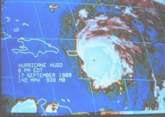 20th Anniversary of The Great Hurricane Hugo  The WeatherMatrix