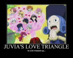 Love triangle: level Juvia