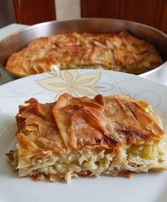 Apple Pie, Lasagna, Food And Drink, Cooking Recipes, Greek Recipes, Sweet, Ethnic Recipes, Desserts, Bakken