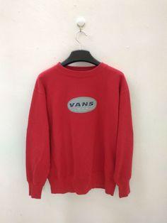 Vintage Vans USA Sweater Sweatshirt