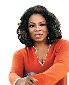 Oprah Winfrey is an American media proprietor, talk show host, actress, producer and philanthropist.  She was not born with a silver spoon in her mouth, and yet she is famous, rich and successful.