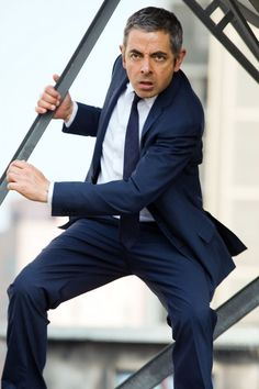Rowan Atkinson in Johnny English Reborn. Photo by Giles Keyte © 2011 Universal Studios