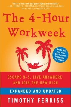 The 4-Hour Work Week. Not everything will apply to your life and business ... but surprisingly a lot will. Thoughts?