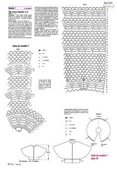 Crochet saquito otoño 2