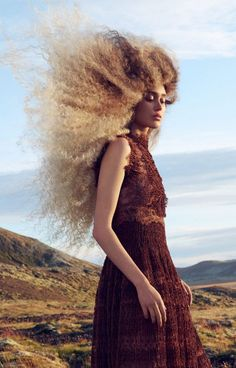 Emotions is the latest collection by HJ's 2016 British Hairdresser of the Year Angelo Seminara for Great Lengths, with bold looks delivering variations in colour, style, volume, texture and length. The collection was shot on location in Ireland using the 100% human hair extensions, to showcase beautiful style, colour and amazing movement.